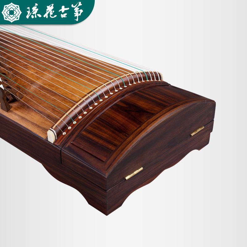 Qionghua guzheng 982 great music and sound Rose wood real wood grain surface Professional playing guzheng collection level