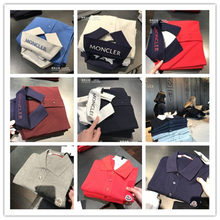 The European Union can be repeatedly purchasing genuine MONCLER/ cotton shirt T-shirt Lai POLO spot