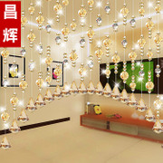 Chang Huizhu curtain curtain crystal curtain entrance partition finished living room feng shui bathroom bedroom curtain screen curtain