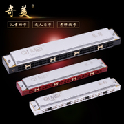 C 24 hole harmonica CMO polysyllabic children beginners beginners professional adult students practicing musical instruments
