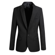 The spring and Autumn period of young thin suits one button slim dress jacket coat for men casual dress suit size