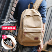 And escape Backpack Rucksack travel bag Korean men Computer Bag Fashion Male High School Students