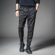 The new summer men's pants men's casual pants Haren pants feet loose pants pants pants feet Wei.