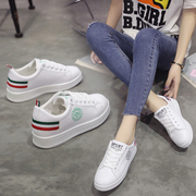 A new Korean sports shoes all-match white shoes casual student spring summer 2017 breathable white shoes