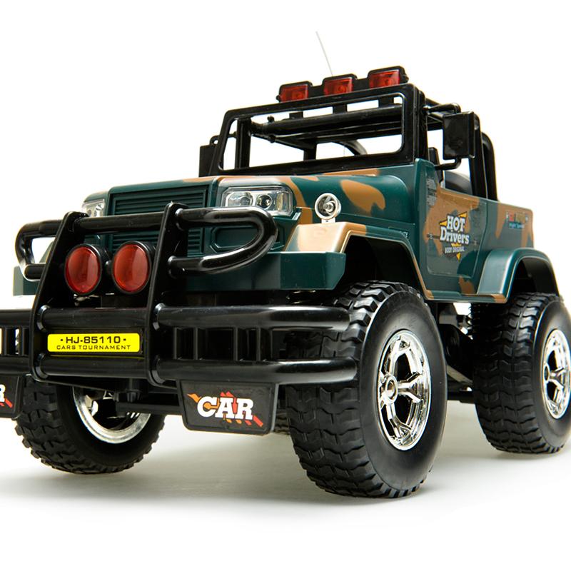 环奇超大遥控越野车悍马耐摔警车充电高速赛车汽车男孩儿童玩具车