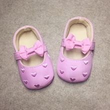 Spring girl princess shoes bottom soft breathable Baby Toddler shoes slip children shoes 0-9-12 months baby shoes