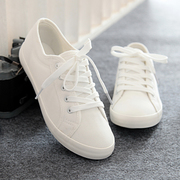 The global low white shoe all-match white canvas shoes sheahan 2017 new old Beijing shoes shoes
