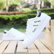 White shoes 6cm shoes in summer shoes 2017 new spring all-match white shoes free shoes.