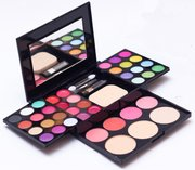 Genuine 39 color makeup makeup makeup compact disc set whole set of powder eye shadow beauty pearl bag mail