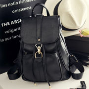 2016 backpack backpack bag bag ladies summer style Korean fashion leather Female Travel Backpack