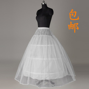 The bride wedding ring three panniers Qi a layer of yarn bone hard bottom lining lace skirt Tutu bone marriage yarn