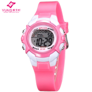 Children watch Girls Boys Girls sports watch waterproof luminous pupils electronic watch Korean fashion watch