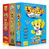 Genuine Qiaohu culture of clever music tiger DVD preschool teaching materials early education dvd disc disc three series