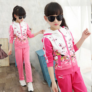 Women's wear dresses winter little girl Winter Korean version 4 to 5-6-7-8-9-10-11 to 12 years old