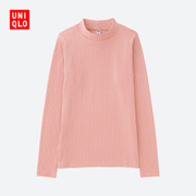 Women's T-shirt (long sleeved turtleneck rib) 192303 UNIQLO UNIQLO
