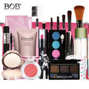 Genuine BOB makeup set complete beginners cosmetics suite makeup beauty nude make-up tool for students