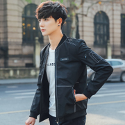 In the spring of 2017 new men's coats s casual sportswear jacket slim youth baseball uniform handsome in spring and Autumn