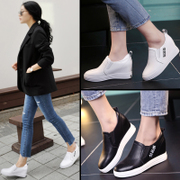 White shoe spring 2017 female new all-match in Korean women students leisure shoes soled shoes Kevin