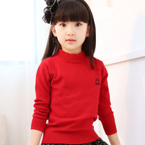 Girls sweater Turtleneck sweaters t the end of 2016 new childrens clothing for fall winter children Korean version grand childrens Sweatshirts