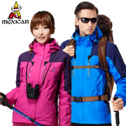 The scarecrow outdoor jackets three men one or two sets of autumn and winter mountaineering lovers waterproof Tibet
