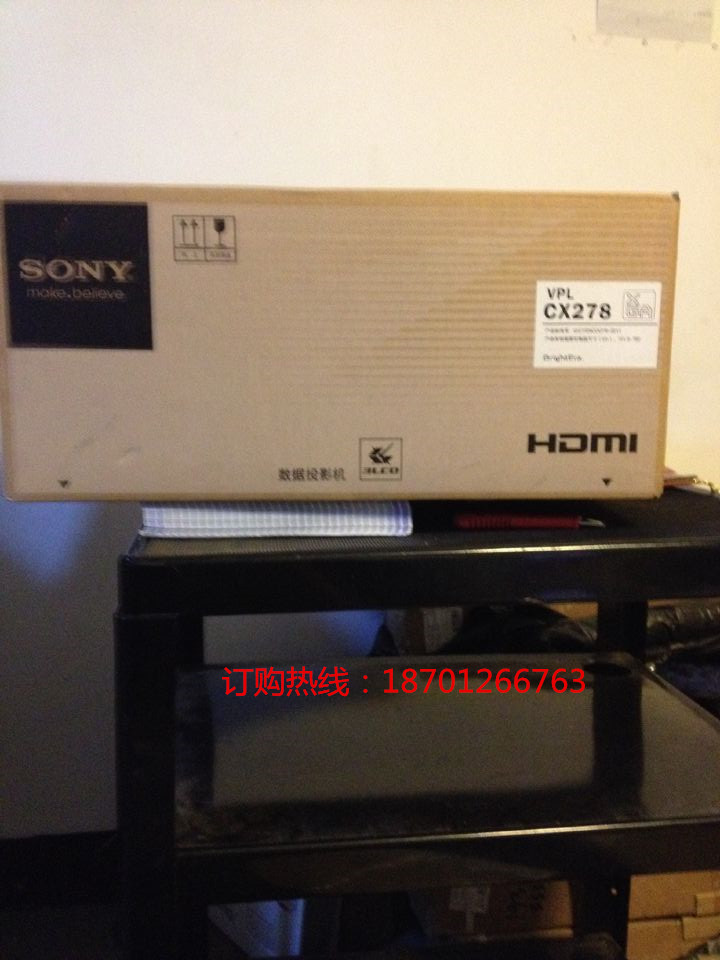 Sony/ SONY VPL-CX279 projector, SONY VPL-CX278 projector, new and original, a large amount of stock