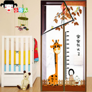 Summer mosquito curtain silent Velcro magnetic soft screen door curtain window screen partition bedroom home Salmonella encryption