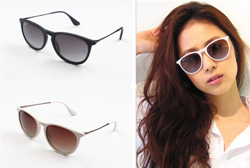Genuine White Polarized Sunglasses retro fashion women could not pick sunglasses glasses face the sun