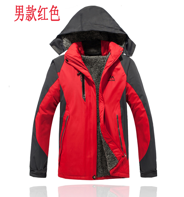 Ms. Qiu dongkuan male cashmere jacket thick outdoor windproof waterproof mountaineering lovers SC