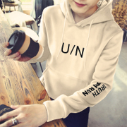 2017 new men fall Hoodie sleeve head long sleeved sweater 'trend of Korean couple coat boys