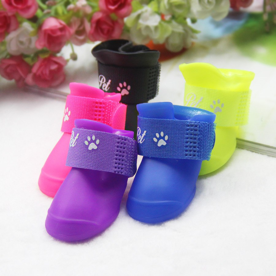 Pet candy department of small dogs Tactic pet shoes boots shoes boots waterproof shoes slip dog pet
