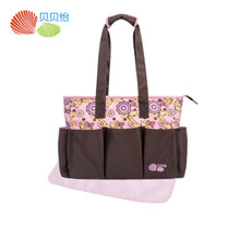 Beibei Yi large capacity fashion multifunctional travel package bag child mummy bag 151P122