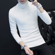 Winter thickened turtleneck sweater sweater Mens Korean male student Turtleneck Shirt Boys sweater