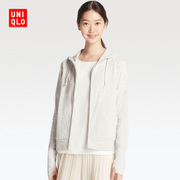 Womens Zip Hooded cardigan movement (sleeve) 182224 of its UNIQLO