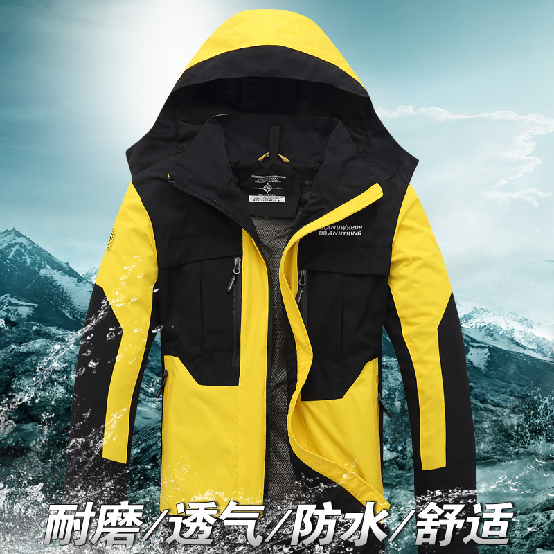 2015 fall of the new middle-aged men's outdoor clothing, casual jacket, men's clothing, casual jacket