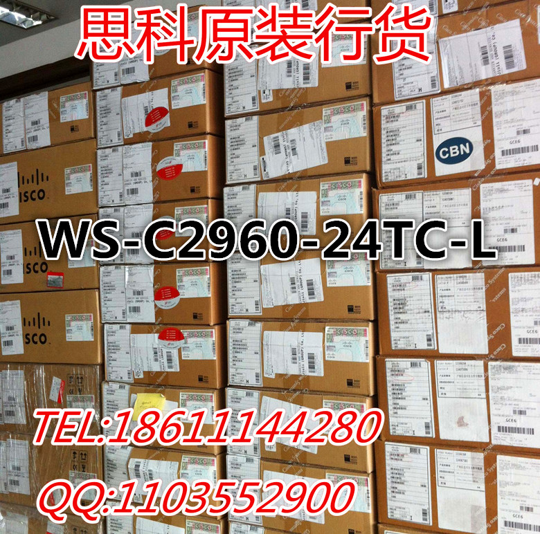 CISCO CISCO MB switches WS - C2960-24 tc - L new quality goods available in mail