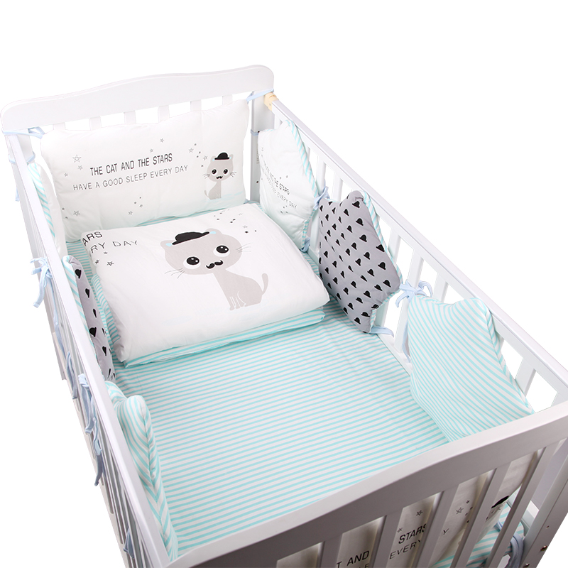 Baby bedding sets, pure cotton baby beds, four seasons, universal baby bed, baby bed, product bed