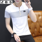 In the summer of 2017 new male short sleeved t-shirt t-shirt long sleeve shirt sleeve trend of Korean men's clothes half