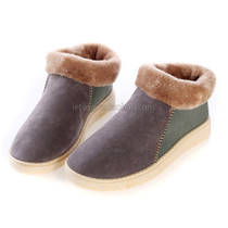 Mans Shoes Comfort Platform Fleece Short Boots