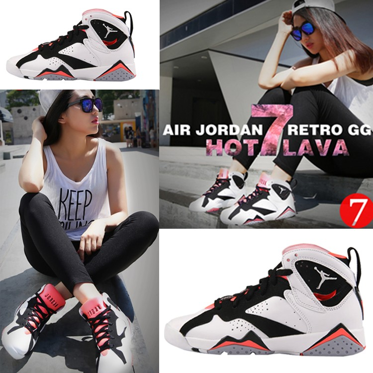 Genuine AJ7 Bugs Bunny hot lava black and pink shoes Joe 7 eggs Laura rabbit Marvin mens basketball shoes