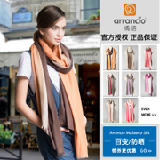 Silk shawls scarves Orange language dual-use air conditioning in winter wool silk blend scarves women wild