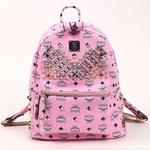 Spring spring travel bag fashionista Korean version of the new backpack bag this super popular good-looking