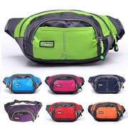 Outdoor riding multifunctional large capacity purse for men and women to travel sports mobile phone running waterproof multi-layer bag