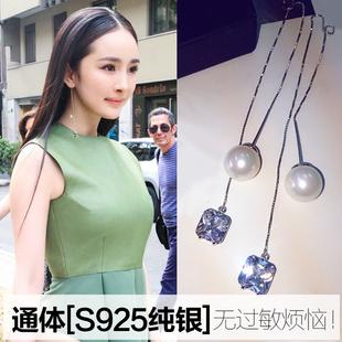 现货时尚珍珠色耳钉耳环配饰