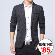 The fall of men's casual suit male Korean slim thin young male is the West England Blazer Jacket