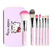 Special offer every day Hello Kitty makeup brush 7 brush blush brush eye shadow brush makeup tools