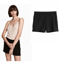 054149HM dress trousers vent elastic waist Salvatore short shorts Jersey 0525991002