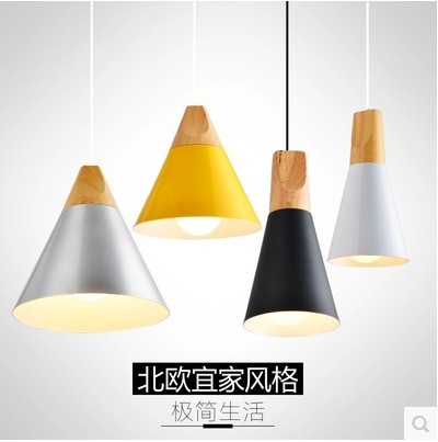 Northern Europe IKEA table lamp modern minimalist style personality creative dining room bedroom bar aisle sitting room hanging lamps