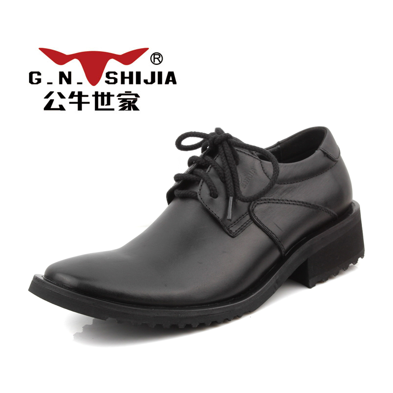 Bull family men's 2015 new leather casual shoes trend wind of England men shoes suede leather