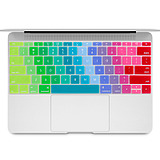 Apple laptop A1534 keyboard protective film MacBook 12 inch color semi-permeable concave and convex keys