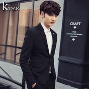 2017 autumn thin style leisure suit, handsome young men, Korean style small suit, men's coat, tide single coat